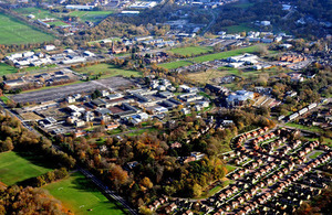 Aldershot Urban Extension site (library image) [Picture: Crown copyright]
