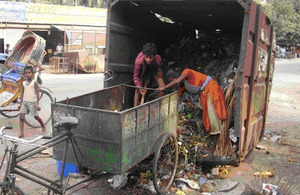 Waste scavengers and other informal service providers should be considered in urban development projects