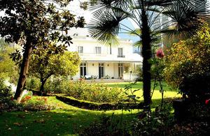 Residence garden.