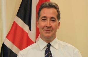 British Ambassador Mark Canning