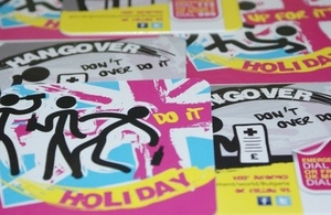 Holiday Hangover Campaign Information Materials