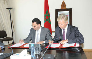 British Ambassador and Moroccan minister of Communication