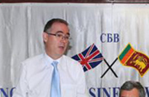 British High Commissioner to Sri Lanka, H E John Rankin