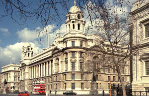 The Old War Office building in Whitehall, London [Picture: Allan House, Crown copyright]