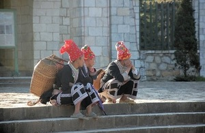 Vietnamese highland women. Picture: Kirsty Mason/DFID