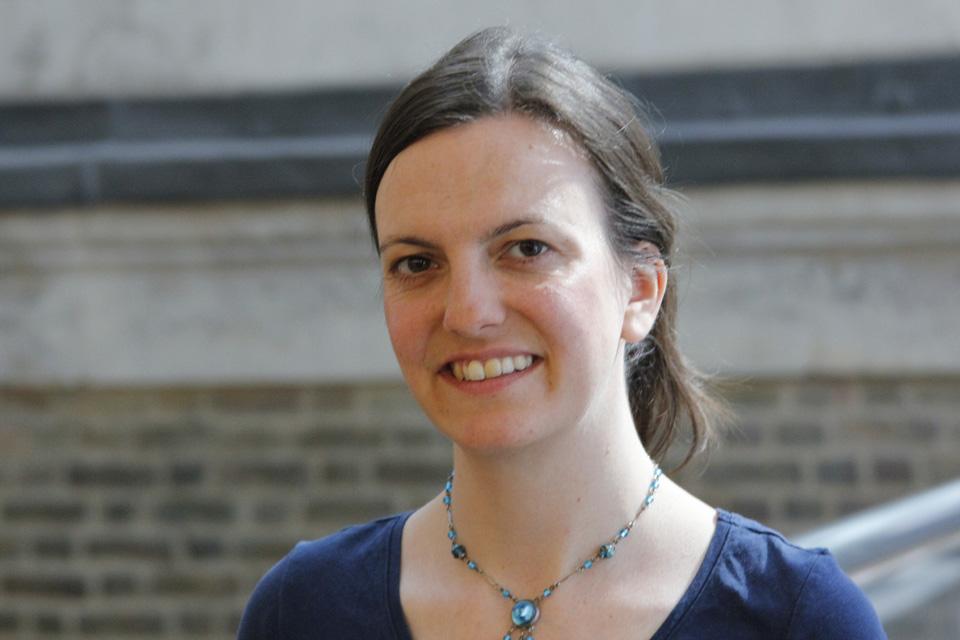 DFID Humanitarian advisor, Louisa Medhurst. Picture: DFID