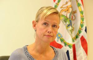 British Ambassador to Luxembourg, The Hon Alice Walpole