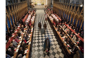 Evensong service at Westminster Abbey marking the 70th Anniversary of the Battle of El Alamein