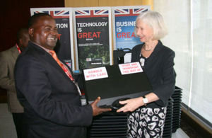 British High Commissioner hands over aviation security equipment to JNIA