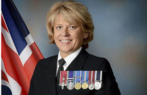Warrant Officer Class 1 Susan Morgan