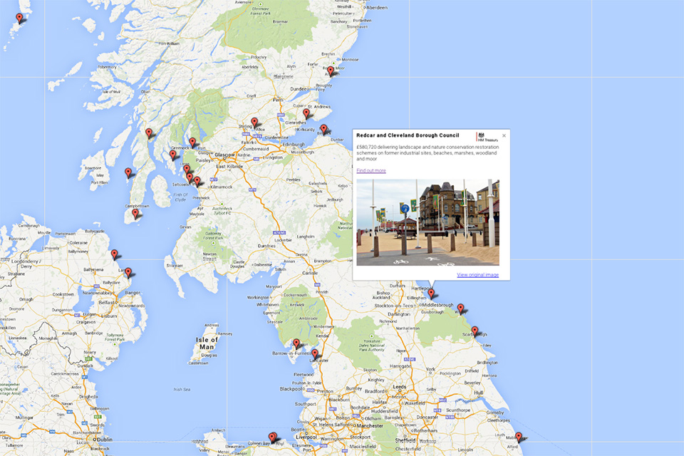 Map Of Uk Towns And Cities.Seaside Towns To Be Given 29 Million To Boost Growth Gov Uk
