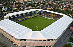 Ilie Oana stadium in Ploiesti, Romania