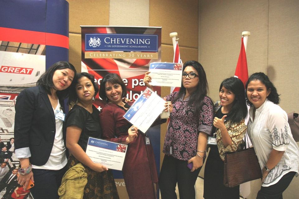 Indonesian Chevening scholars and alumni