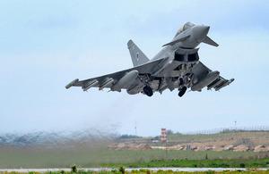 Typhoons deploying to Cyprus - GOV.UK