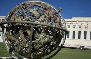 UN headquarters, Geneva