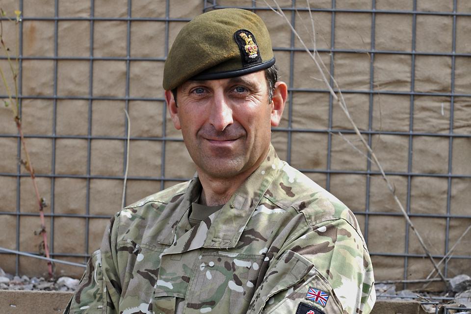 Brigadier James Woodham