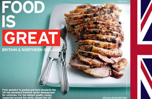 Food is Great Britain