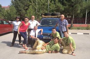 Rally in Ashgabat
