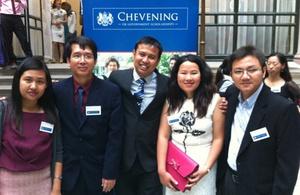 Chevening Scholars 2012-2013