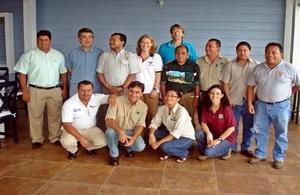 British Ambassador visits Peten, Guatemala