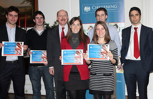 More than 200 young Chilean leaders have received the Chevening Scholarship.