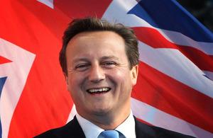 ראש ממשלת בריטניה דיוויד קמרון