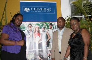 2012/2013 Chevening Scholars