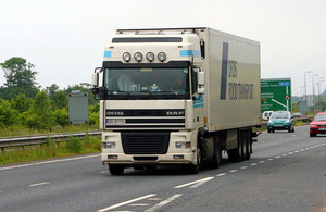 HGV from abroad