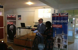 The event was hosted by British High Commissioner David Morley