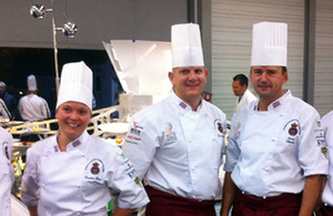 S300 chefs dish up world class meals