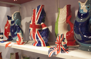 Gluggle Jugs Ltd. was one of the 33 British companies on display at the tradeshow.