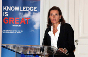 Prof Ngaire Woods, Dean of the Blavatnik School of Government, Oxford University.