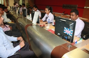 In Sri Lanka, approximately 6,000 applicants a year apply for student visas to the UK.