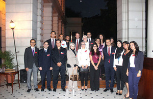 Chevening reception