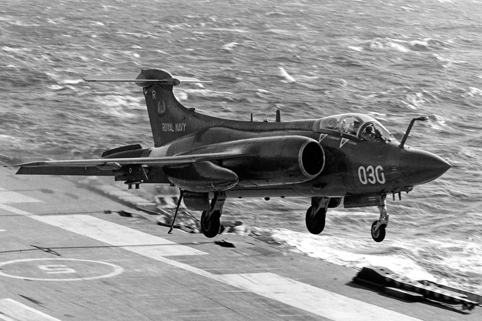 An 809 Naval Air Squadron Buccaneer