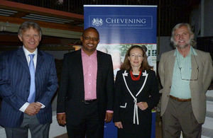 Guests at the 30 Years Chevening and Alumni Event in Windhoek