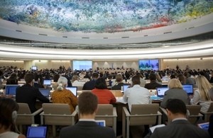 Opening of the 24th Session of the U.N. Human Rights Council in Geneva