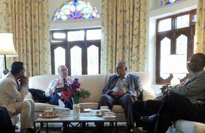 Alistair Burt with Southern Yemen leaders