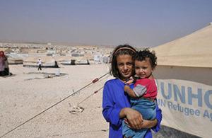 Pabėgėliai Sirijoje