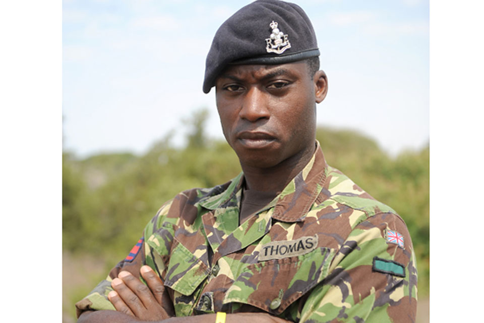 Lance Corporal Kenneth Thomas