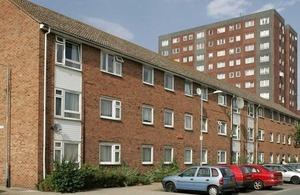 Social housing.