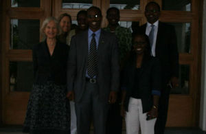 2013 Chevening farewell group photo