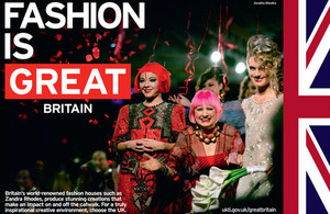 Fashion is Great Britain