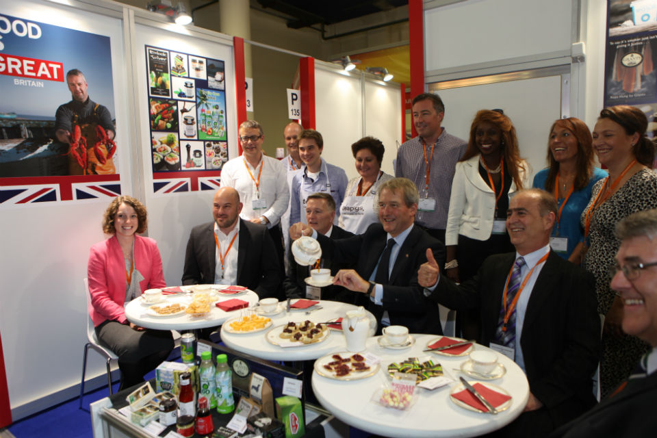 Owen Paterson with British food trade delegation to Russia