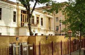 British Embassy Tashkent