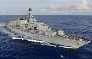 HMS Lancaster (library image) [Picture: Leading Airman (Photographer) Jay Allen, Crown copyright]