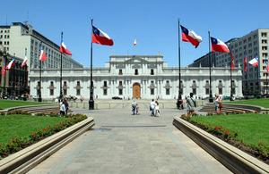 La Moneda Presidential Palace.