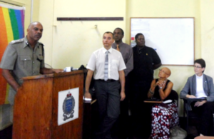 Human Rights Sensitisation Training for OECS and Barbados Police