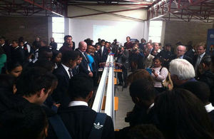 Minister Willets in South Africa