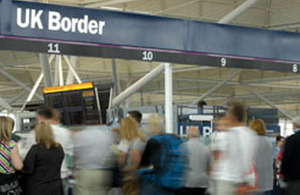 Travellers at border